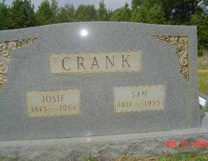CRANK, SAM - Hempstead County, Arkansas | SAM CRANK - Arkansas Gravestone Photos