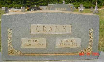 CRANK, GEORGE - Hempstead County, Arkansas | GEORGE CRANK - Arkansas Gravestone Photos