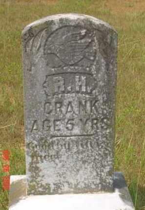 CRANK, R. H. - Hempstead County, Arkansas | R. H. CRANK - Arkansas Gravestone Photos