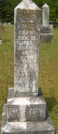 CRANK, WALTER A - Hempstead County, Arkansas | WALTER A CRANK - Arkansas Gravestone Photos