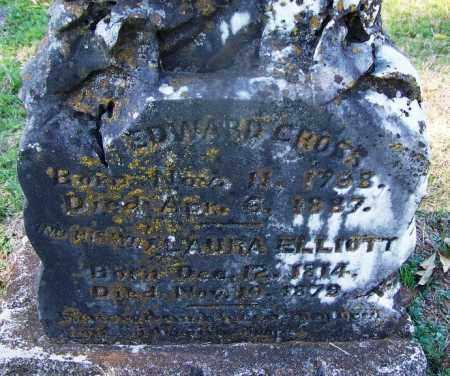 ELLIOTT CROSS, LAURA (CLOSEUP) - Hempstead County, Arkansas | LAURA (CLOSEUP) ELLIOTT CROSS - Arkansas Gravestone Photos