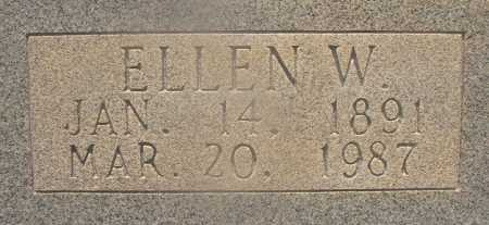CUMBIE, ELLEN W (CLOSEUP) - Hempstead County, Arkansas | ELLEN W (CLOSEUP) CUMBIE - Arkansas Gravestone Photos