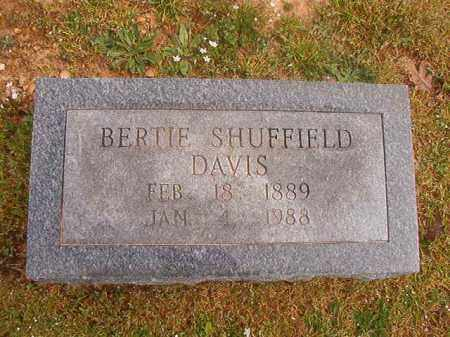 DAVIS, BERTIE - Hempstead County, Arkansas | BERTIE DAVIS - Arkansas Gravestone Photos