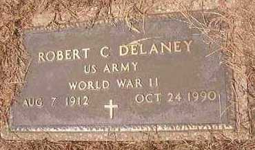 DELANEY (VETERAN WWII), ROBERT C - Hempstead County, Arkansas | ROBERT C DELANEY (VETERAN WWII) - Arkansas Gravestone Photos
