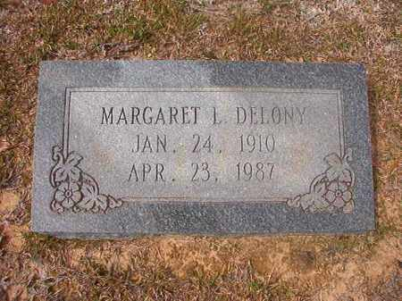 DELONY, MARGARET L - Hempstead County, Arkansas | MARGARET L DELONY - Arkansas Gravestone Photos