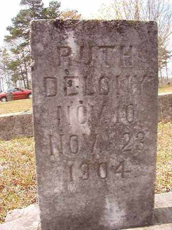 DELONY, RUTH - Hempstead County, Arkansas | RUTH DELONY - Arkansas Gravestone Photos