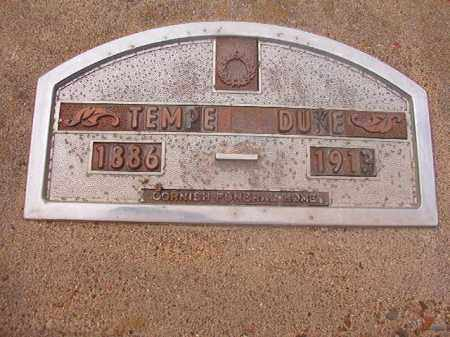 DUKE, TEMPE - Hempstead County, Arkansas | TEMPE DUKE - Arkansas Gravestone Photos