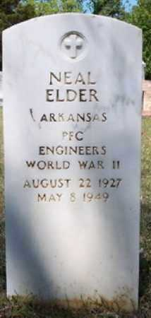 ELDER (VETERAN WWII), NEAL - Hempstead County, Arkansas | NEAL ELDER (VETERAN WWII) - Arkansas Gravestone Photos