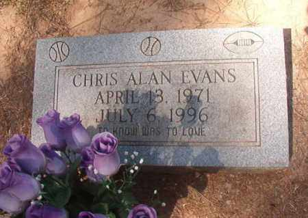 EVANS, CHRIS ALAN - Hempstead County, Arkansas | CHRIS ALAN EVANS - Arkansas Gravestone Photos