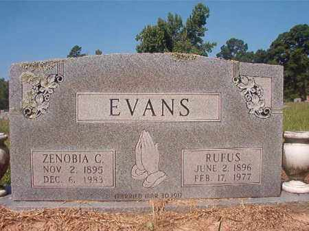 EVANS, ZENOBIA C - Hempstead County, Arkansas | ZENOBIA C EVANS - Arkansas Gravestone Photos