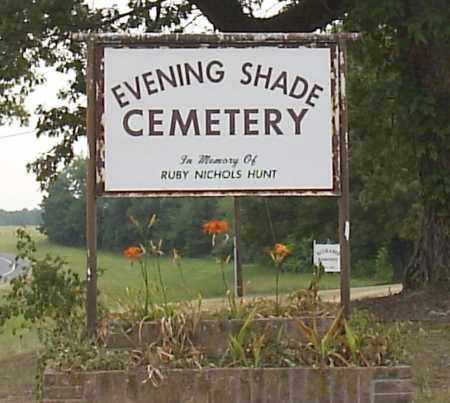 *EVENING SHADE CEMETERY,  - Hempstead County, Arkansas |  *EVENING SHADE CEMETERY - Arkansas Gravestone Photos