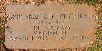 FINCHER, JR (VETERAN VIET), CECIL FRANKLIN - Hempstead County, Arkansas | CECIL FRANKLIN FINCHER, JR (VETERAN VIET) - Arkansas Gravestone Photos
