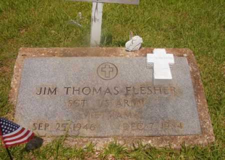 FLESHER (VETERAN VIET), JIM THOMAS - Hempstead County, Arkansas | JIM THOMAS FLESHER (VETERAN VIET) - Arkansas Gravestone Photos