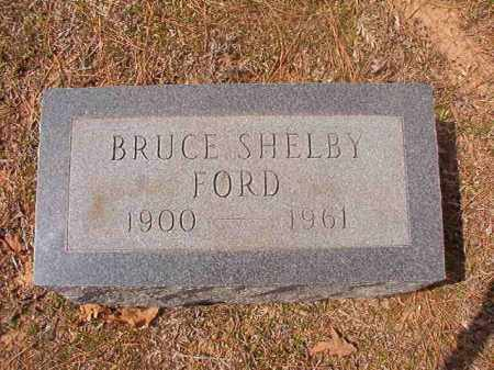 FORD, BRUCE SHELBY - Hempstead County, Arkansas | BRUCE SHELBY FORD - Arkansas Gravestone Photos