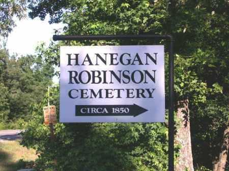 *HANEGAN-ROBINSON SIGN,  - Hempstead County, Arkansas |  *HANEGAN-ROBINSON SIGN - Arkansas Gravestone Photos