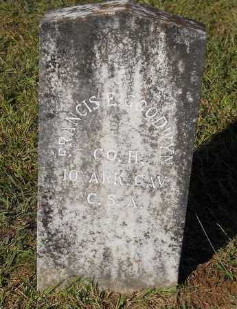 GOODWYN (VETERAN CSA), FRANCIS E - Hempstead County, Arkansas | FRANCIS E GOODWYN (VETERAN CSA) - Arkansas Gravestone Photos