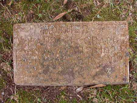 GRATIOT, AMANDA B - Hempstead County, Arkansas | AMANDA B GRATIOT - Arkansas Gravestone Photos