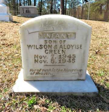 GREEN, INFANT SON - Hempstead County, Arkansas | INFANT SON GREEN - Arkansas Gravestone Photos