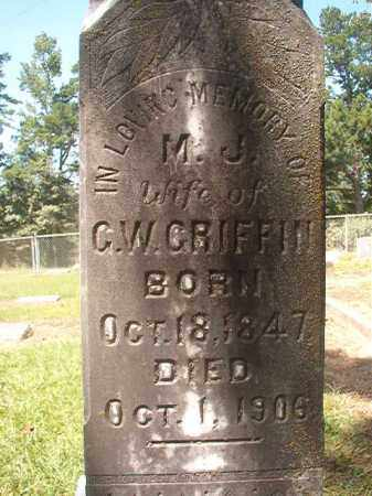 GRIFFIN, M J - Hempstead County, Arkansas | M J GRIFFIN - Arkansas Gravestone Photos