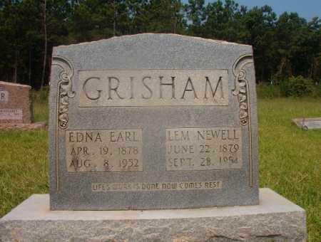 GRISHAM, EDNA EARL - Hempstead County, Arkansas | EDNA EARL GRISHAM - Arkansas Gravestone Photos