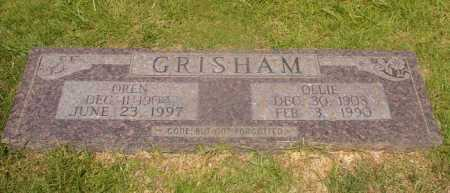 GRISHAM, OREN - Hempstead County, Arkansas | OREN GRISHAM - Arkansas Gravestone Photos