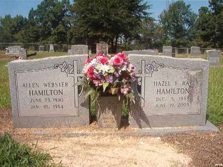 RAY HAMILTON, HAZEL F - Hempstead County, Arkansas | HAZEL F RAY HAMILTON - Arkansas Gravestone Photos