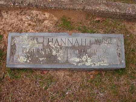 HANNAH, MAGGIE M - Hempstead County, Arkansas | MAGGIE M HANNAH - Arkansas Gravestone Photos