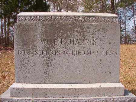HARRIS, WILLIE - Hempstead County, Arkansas | WILLIE HARRIS - Arkansas Gravestone Photos