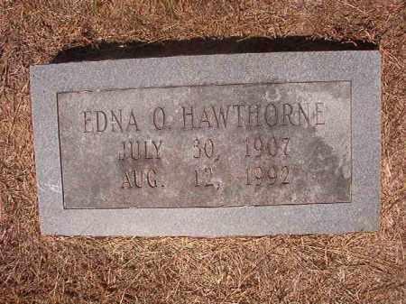 HAWTHORNE, EDNA O - Hempstead County, Arkansas | EDNA O HAWTHORNE - Arkansas Gravestone Photos