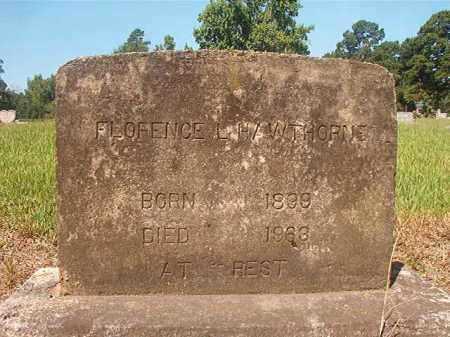 HAWTHORNE, FLORENCE L - Hempstead County, Arkansas | FLORENCE L HAWTHORNE - Arkansas Gravestone Photos