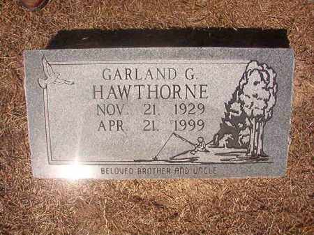 HAWTHORNE, GARLAND G - Hempstead County, Arkansas | GARLAND G HAWTHORNE - Arkansas Gravestone Photos