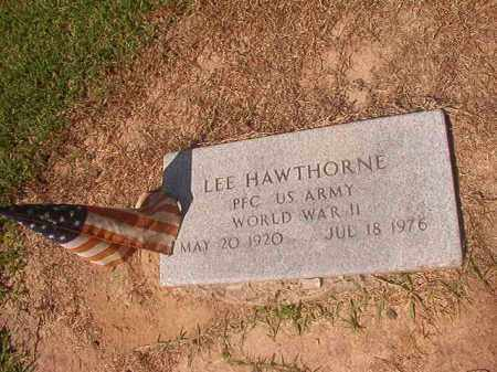 HAWTHORNE (WWII), LEE - Hempstead County, Arkansas | LEE HAWTHORNE (WWII) - Arkansas Gravestone Photos