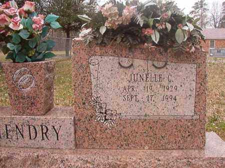 HENDRY, JUNELLE C - Hempstead County, Arkansas | JUNELLE C HENDRY - Arkansas Gravestone Photos
