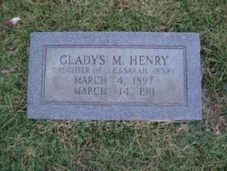 HENRY, GLADYS - Hempstead County, Arkansas | GLADYS HENRY - Arkansas Gravestone Photos