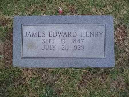 HENRY, JAMES EDWARD - Hempstead County, Arkansas | JAMES EDWARD HENRY - Arkansas Gravestone Photos