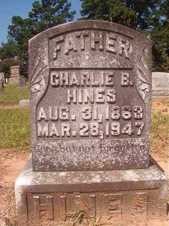 HINES, CHARLIE B - Hempstead County, Arkansas | CHARLIE B HINES - Arkansas Gravestone Photos