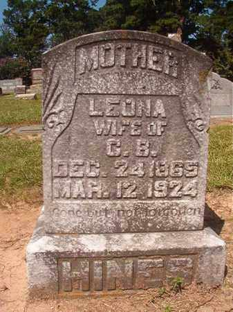 HINES, LEONA - Hempstead County, Arkansas | LEONA HINES - Arkansas Gravestone Photos