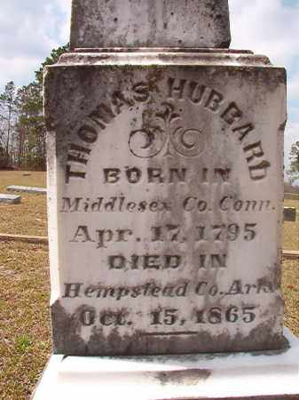 HUBBARD, THOMAS - Hempstead County, Arkansas | THOMAS HUBBARD - Arkansas Gravestone Photos
