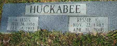 HUCKABEE, RESSIE K - Hempstead County, Arkansas | RESSIE K HUCKABEE - Arkansas Gravestone Photos