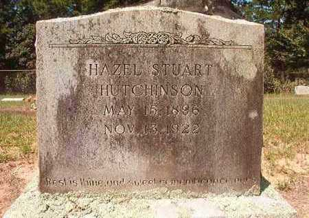 STUART HUTCHINSON, HAZEL - Hempstead County, Arkansas | HAZEL STUART HUTCHINSON - Arkansas Gravestone Photos