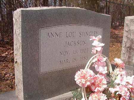 JACKSON, ANNE LOU - Hempstead County, Arkansas | ANNE LOU JACKSON - Arkansas Gravestone Photos