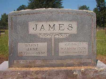 JAMES, GEORGE WASHINGTON - Hempstead County, Arkansas | GEORGE WASHINGTON JAMES - Arkansas Gravestone Photos