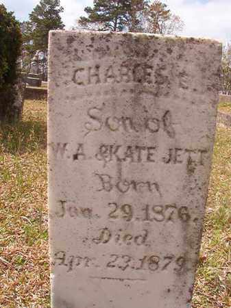 JETT, CHARLES E - Hempstead County, Arkansas | CHARLES E JETT - Arkansas Gravestone Photos