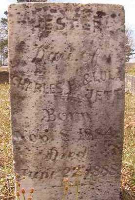 JETT, HESTER - Hempstead County, Arkansas   HESTER JETT - Arkansas Gravestone Photos