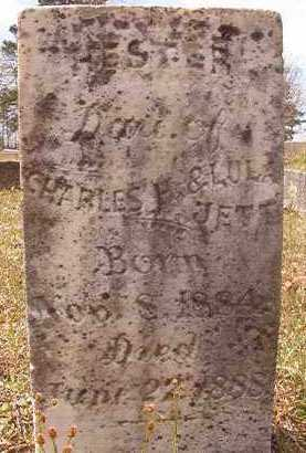 JETT, HESTER - Hempstead County, Arkansas | HESTER JETT - Arkansas Gravestone Photos