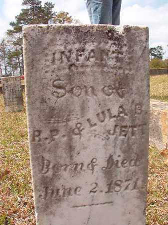 JETT, INFANT SON - Hempstead County, Arkansas | INFANT SON JETT - Arkansas Gravestone Photos