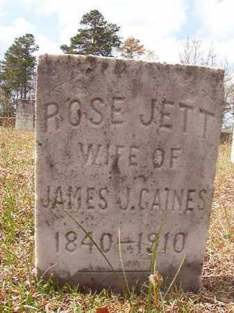 GAINES, ROSE - Hempstead County, Arkansas | ROSE GAINES - Arkansas Gravestone Photos