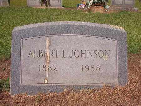 JOHNSON, ALBERT L - Hempstead County, Arkansas | ALBERT L JOHNSON - Arkansas Gravestone Photos