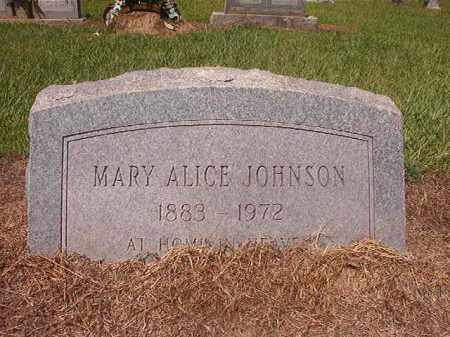 JOHNSON, MARY ALICE - Hempstead County, Arkansas | MARY ALICE JOHNSON - Arkansas Gravestone Photos