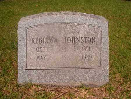 JOHNSTON, REBECCA - Hempstead County, Arkansas | REBECCA JOHNSTON - Arkansas Gravestone Photos